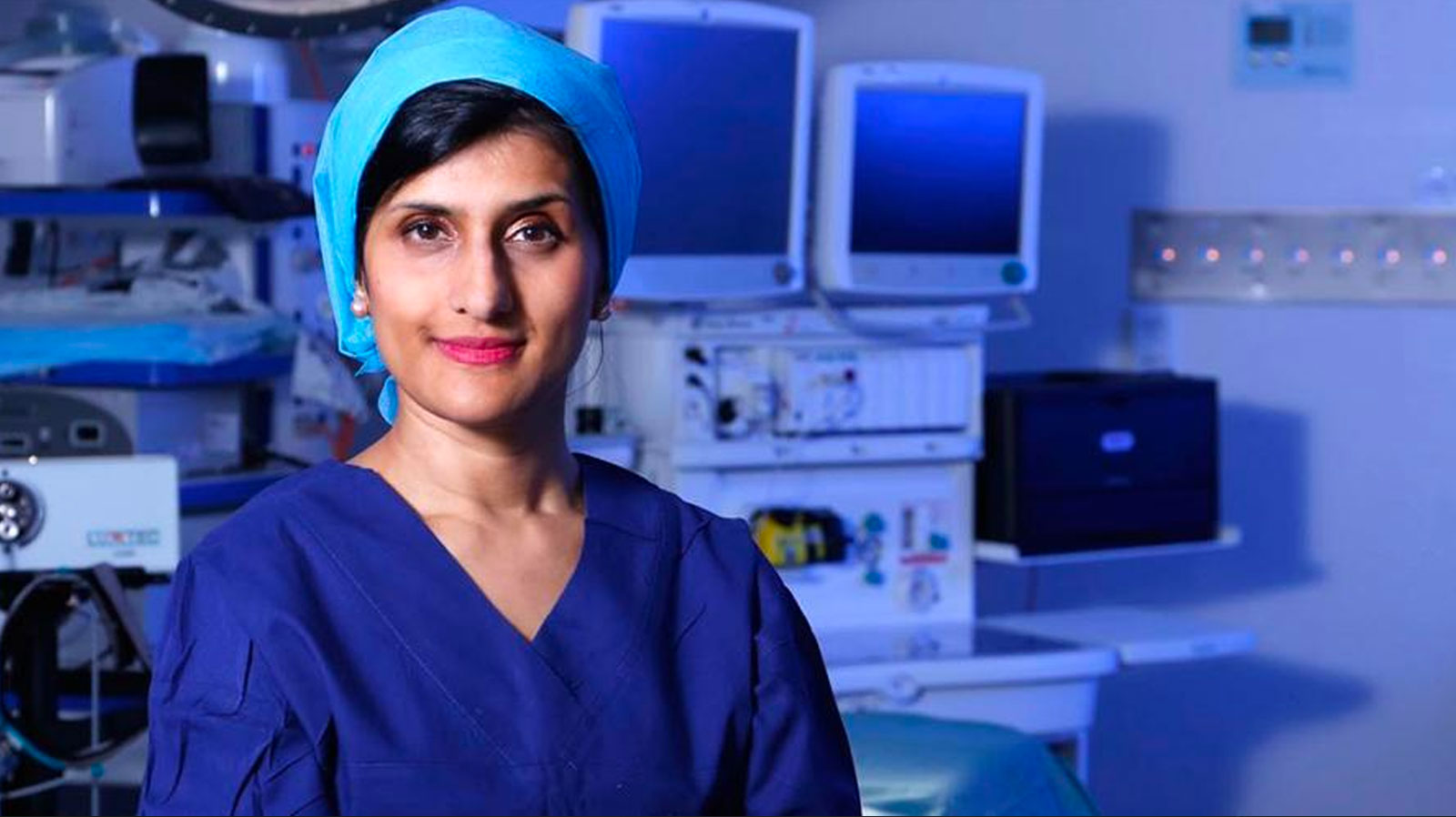 A. Professor Payal Mukherjee - ENT surgeon