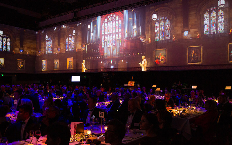 The Great Hall at University of Sydney